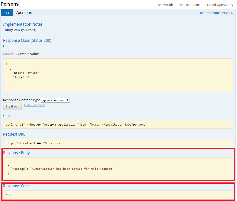 Use IdentityServer in SwaggerUI to consume a secured ASP Net WebAPI